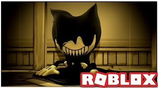 HOW TO ESCAPE BENDY AND THE INK MACHINE IN ROBLOX!!