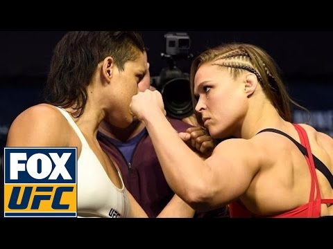 Ronda Rousey vs. Amanda Nunes | Weigh-In | UFC 207