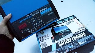 Our Off Grid RV Battery Charger Solution - Schumacher Battery Charger Unboxing