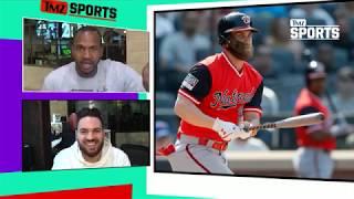 Bryce Harper: NO DECISION YET NYC & Chi Have Food Edge | TMZ Sports