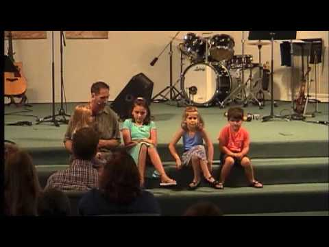 Aug 28, 2016, Children's Sunday, I Need Jesus, Pastor Jeff, Penfield Community Church