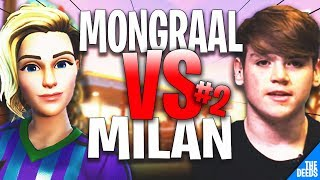 Secret Mongraal 1 VS 1 Secret Milan #2 | Fortnite Creative *EPIC 1v1 FIGHTS*