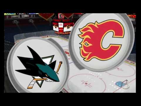 EAPHL #11 #regular season laker(Calgary Flames ) - storm(San Jose Sharks) NHL 16 PC