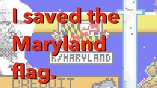 I Allied with Sweden to Save the Maryland Flag!