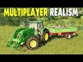 Ep. 06 - Big Farm Crew with New Equipment & Bigger Fields | Farming Simulator 19 Multiplayer Gamepla