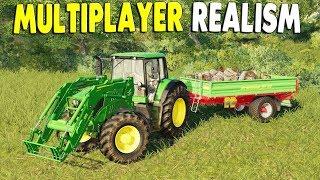 Ep. 06 - Big Farm Crew with New Equipment & Bigger Fields | Farming Simulator 19 Multiplayer Gamepla