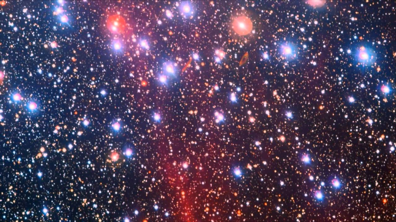 Middle Aged Stars Span Color Spectrum