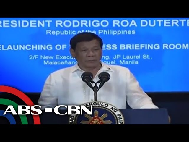 Duterte tells journos: Uphold the truth at all times