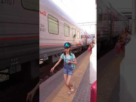 ЭП1-114 поезд  Саратов -Волгоград-Адлер №13/14
