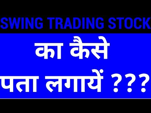 Swing Trading Strategy #1 – How to identify a Stock | HINDI