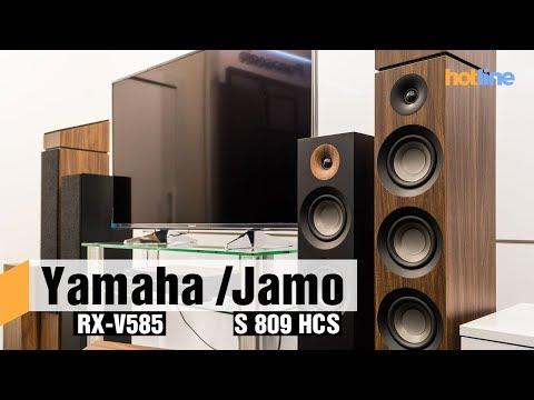 Yamaha RX-V585 и Jamo S 807/S 809  — строим домашний кинотеатр