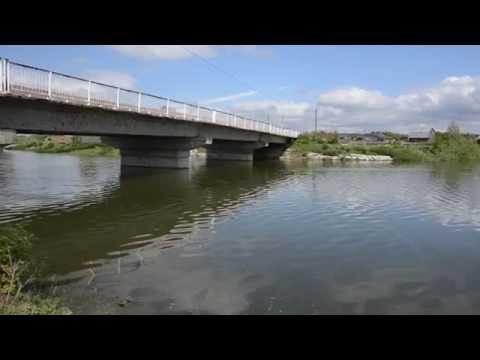 Течение в реке Бобровка 08.06.2014.
