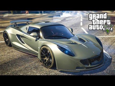 PojzPlaza – โคตรรถเร็วที่สุดในโลก (Hennessey Venom GT mod)