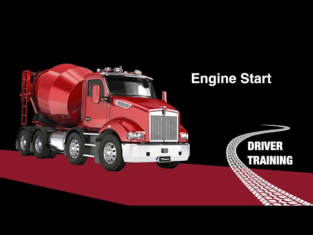 Kenworth T360 Engine start up