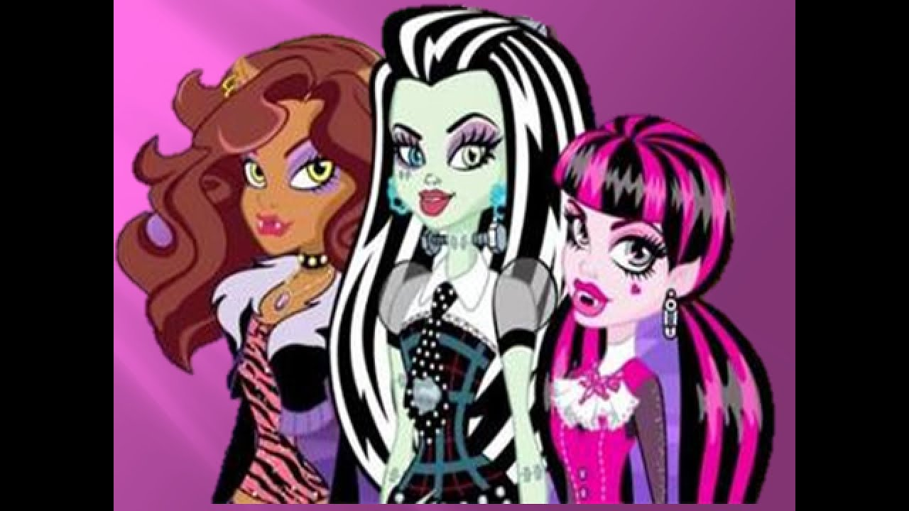 Monster high la f te des goules dessin anim youtube - Dessin monster ...