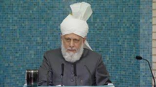 Freitagsansprache 06.05.2016 - Islam Ahmadiyya