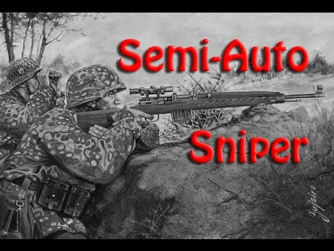 ((Heroes and Generals)) GE 43 semi-auto Recon setup & ownage