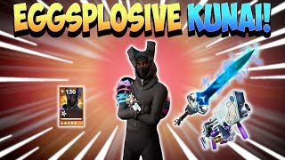 Eggsplosive Kunai Bunny! Dashing Hare Ken Hero Loadout | Fortnite Save The World