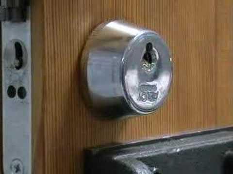 Взлом двери без повреждений (отмычки) ABLOY SL900                             Pick lock of Abloy 900