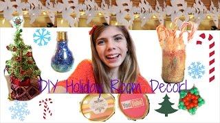 DIY Holiday Room Decor! Thumbnail