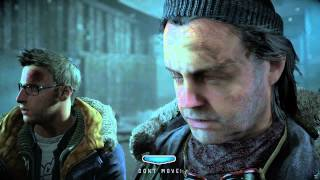 Until Dawn Monster Chase and Stranger Death Scene PS4 Gameplay