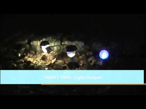 PORTFOLIO Solar LED Lights REVIEW- Volume I