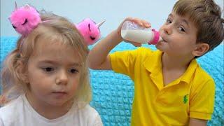 Bogdan nu se comporta frumos | Video educativ pentru copii | Sketch
