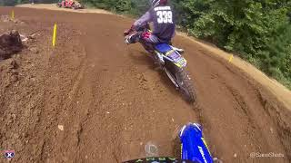 Take a full moto ride with Jordan Jarvis as she races the 125 All S...