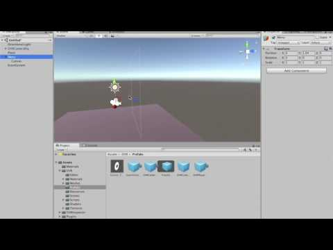 VR UI Interaction for Oculus Rift and Gear VR in Unity