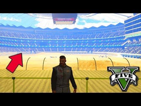 GTA V Online: NOVA DLC - UMA ARENA GIGANTE!! (CARROS de GUERRA)