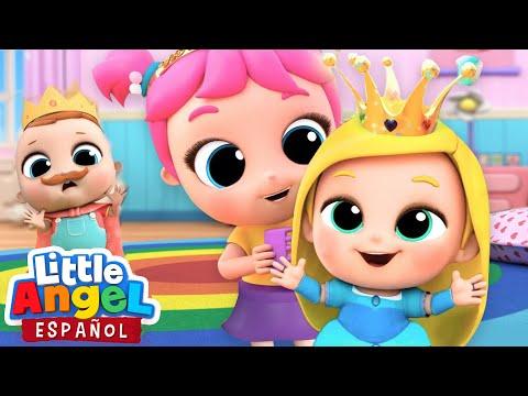 ¡Vamos A Jugar A Las Princesas! 👸🏼  Canciones Infantiles   Little Angel Español