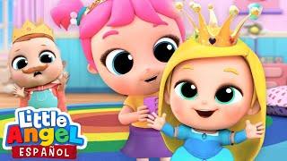 ¡Vamos a Jugar a las Princesas! 👸🏼| Canciones Infantiles | Little Angel Español