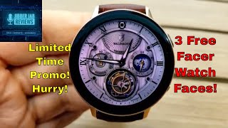 *FREEBIE ALERT!* Samsung Galaxy Watch/Gear Watch Faces by Facer - Jibber Jab Reviews!