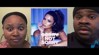 DEMI LOVATO - SORRY NOT SORRY LIVE - REACTION
