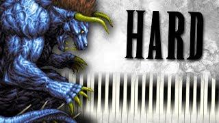 The Decisive Battle (from Final Fantasy VI) - Piano Tutorial