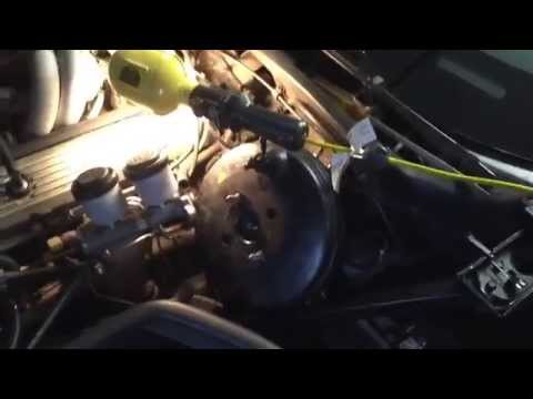 How to remove replace install Chevrolet Chevy Corvette C4 C-4 power brake booster