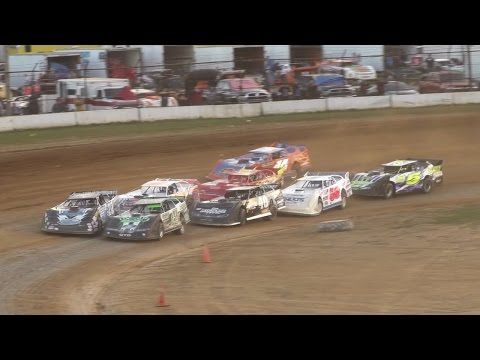 ULMS Super Late Model Heat One | McKean County Raceway | Fall Classic | 10-15-16