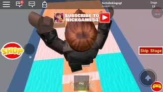 Escaping the the dentist in roblox