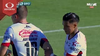 Gol de Michaell Chirinos |  Lobos BUAP 1 - 1 Querétaro | Clausura 2019 - J 7 | Televisa Deportes