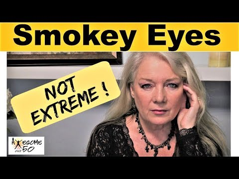 Smokey Eye Makeup for Mature Over 50