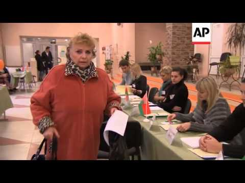 Polls open in Belarus parliamentary election boycotted by opposition