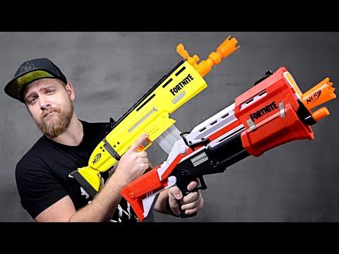 Пушки из FORTNITE!