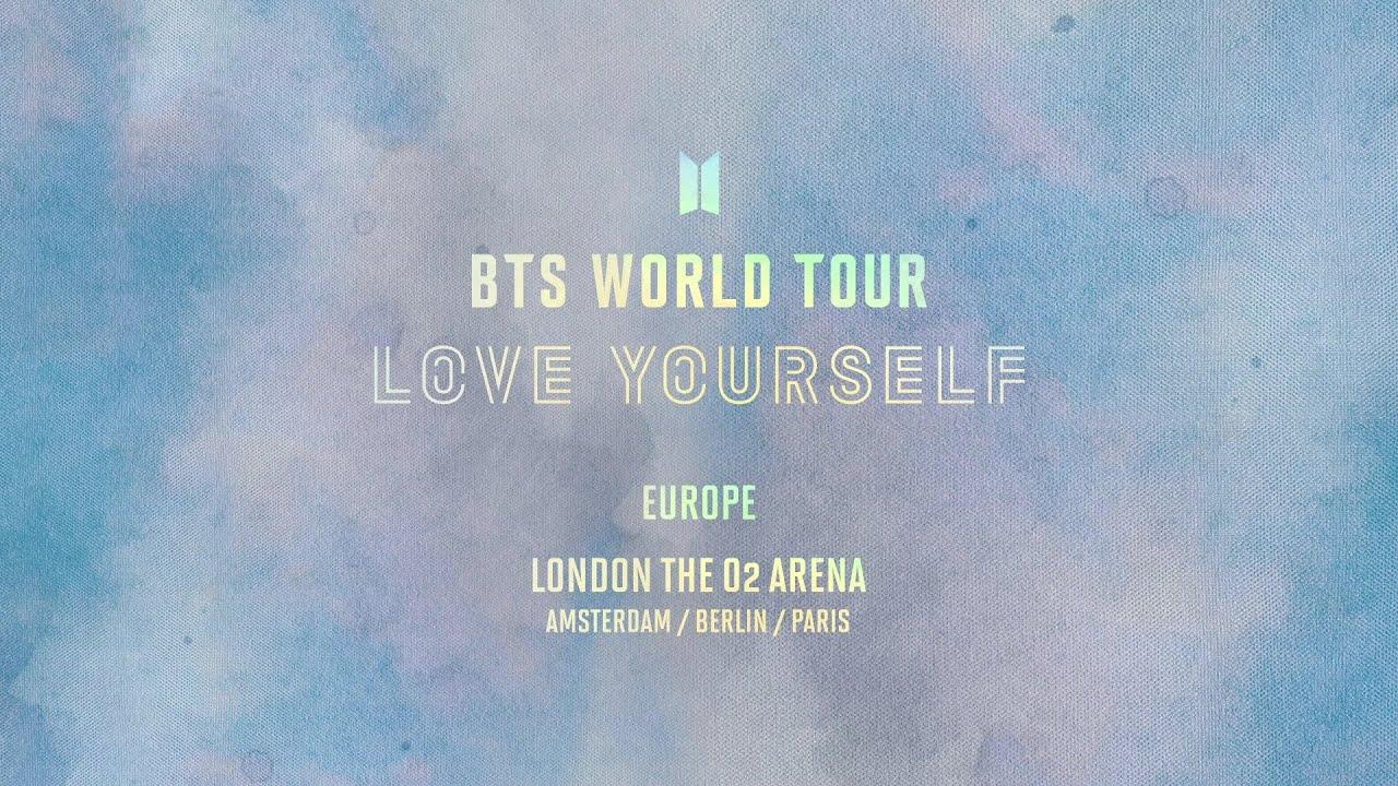 BTS (방탄소년단) WORLD TOUR 'LOVE YOURSELF' EUROPE Official Trailer