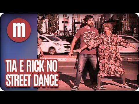 Rick e Tia dançam street dance - Mulheres  (25/05/16)