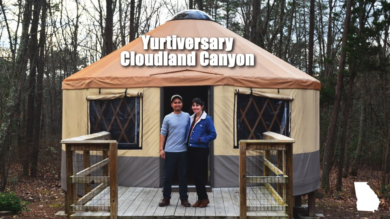 Cloudland canyon hiking and camping in a yurt merevin youtube cloudland canyon hiking and camping in a yurt merevin publicscrutiny Gallery