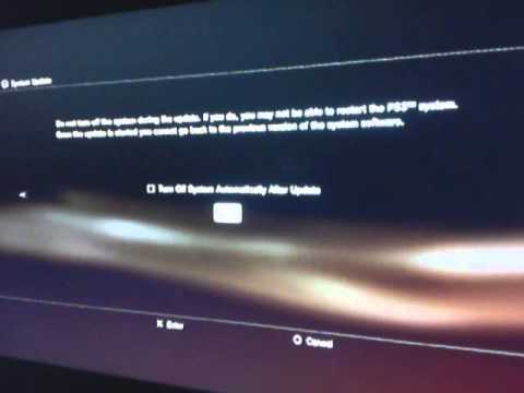 How To Do A System Update On Ps3