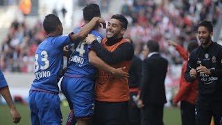 Reims 0 : 1 Nice : le but de Saïd Benrahma