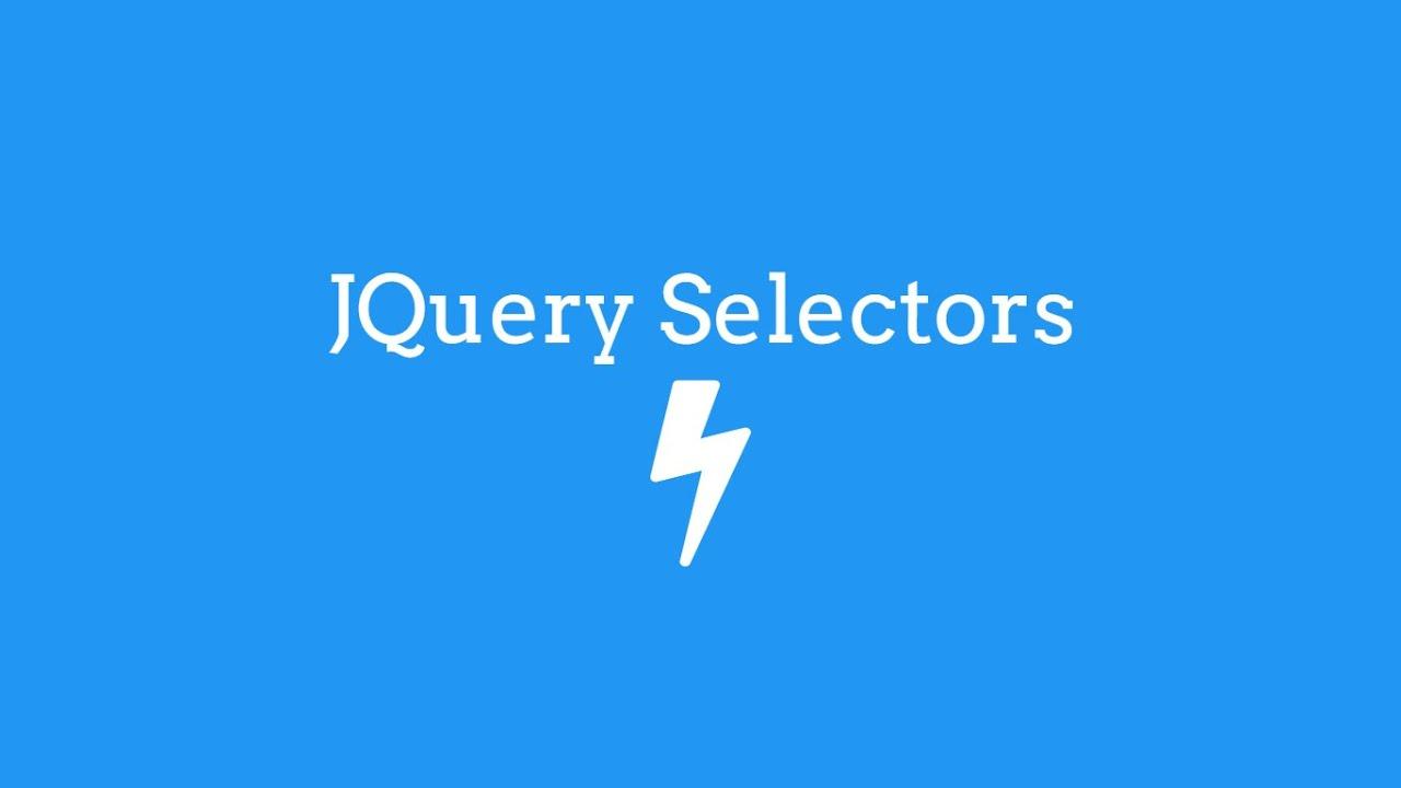 JQuery Selectors #1 - TheMindSpeaks