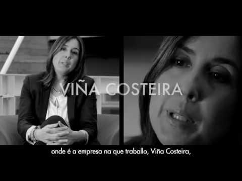 Susana Gulín, de Viña Costeira (Ribadavia): emprego das TIC para coñecer o estado da vide.