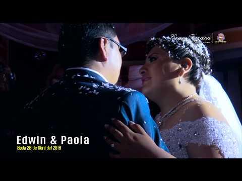 VIDEO: Grupo Sabor Sabor en la boda de Edwin y Paola